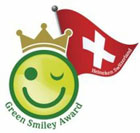 Green Smiley Award Logo
